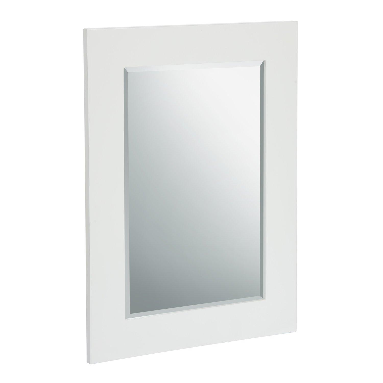 Elegant Home Fashions Chatham Wall Mirror, White
