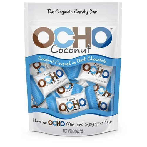OCHO Mini Coconut Pouch 8oz (Ocho Chocolate)