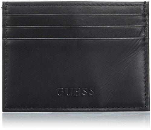 Guess Sm7088lea25, Porta carte di credito Nero