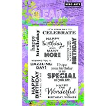 Hero Arts Many Birthday Messages Clear Stamp Set