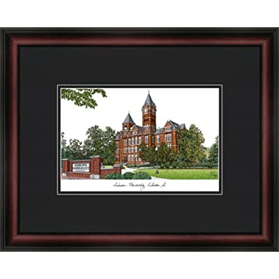 Image of Campus Images NCAA Auburn Tigers Academic Framed Lithograph