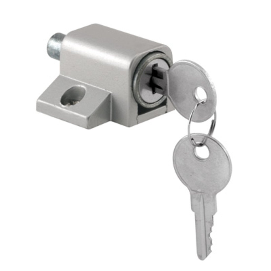 CRL Aluminum Keyed Patio Door Lock by CR Laurence