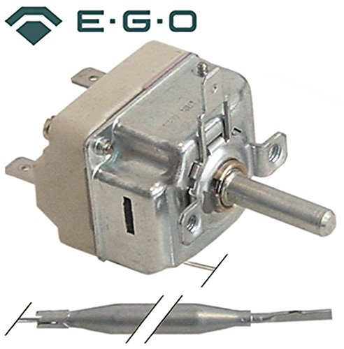 190//°C 1/broches x 87/mm EGO Thermostat 55.19039.822/Temp/érature max