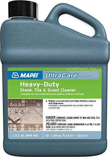 Mapei Ultracare Heavy-Duty Stone, Tile & Grout Cleaner (Patio Stone Pavers Cleaning)