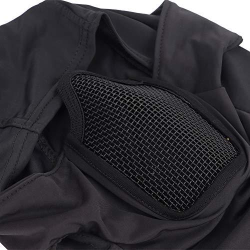 DETECH Tactique Vêtement Respirant Balaclava Maille Masque Visage Complet Airsoft CS Masque Chasse À Vélo Capuche Cache… 5