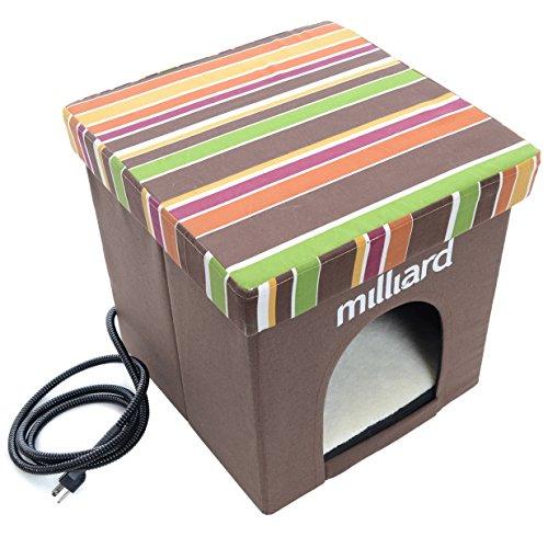 Milliard Heated Pet Cube Ottoman product image