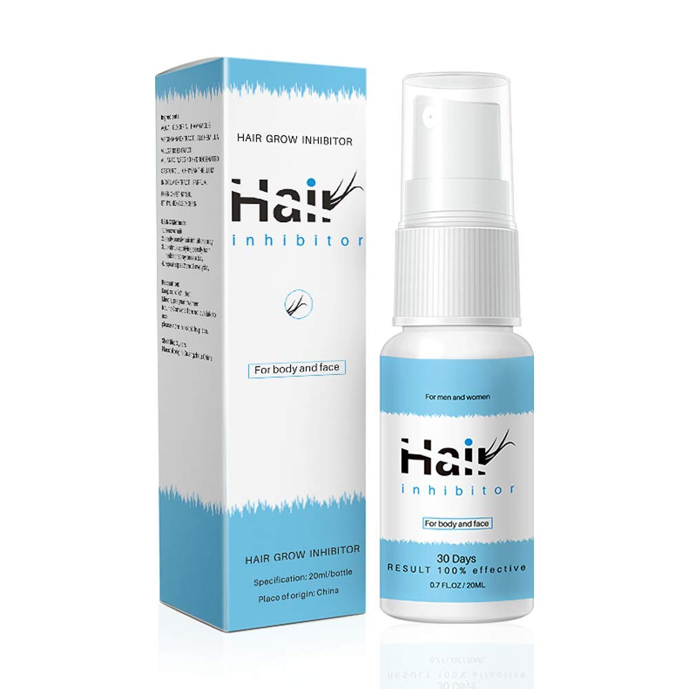 Ownest Hair Growth Inhibitor, Hair Removal Spray, Inhibiting and Reducing to Stop Hair Growth, For Arm/Underarm/Legs/Mild Ingredient Non-Irritating Permanent Depilatories Product