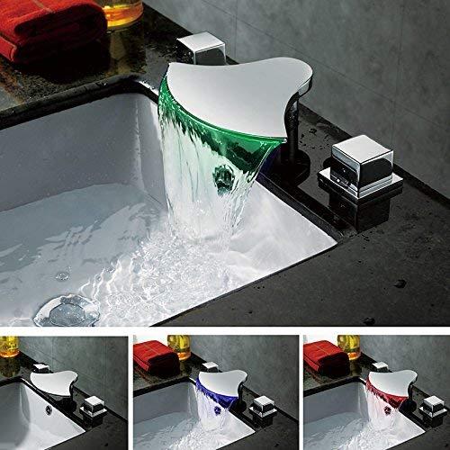 3 Oudan Basin Mixer Tap Bathroom Sink Faucet Basin faucet 3-Piece 6 (color   8)