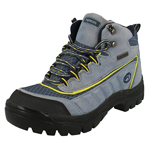 Ladies Campri Hiking Boots / Suede Leather / Lace Up Light Blue (Blue) dIc9r