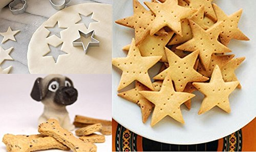 12 Pcs Different Shape Design Aluminum Safety Biscuit Cookie Cake Baking Cutter Mold Kitchen Tool