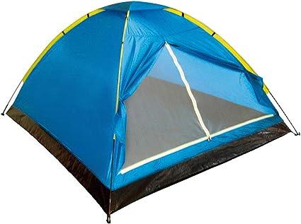 Aktive 52551 - Tienda campaña Dome 4 personas, 210 x 240 x 130 cm