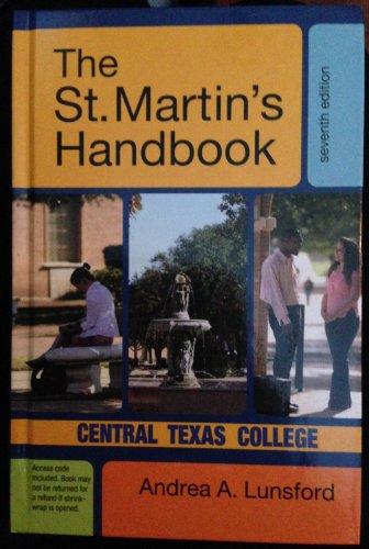 The St. Martin's Handbook: Central Texas College