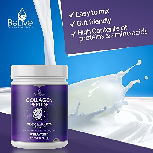 Collagen Powder Premium Hydrolyzed Peptides Protein for Women and Men | Designed for Healthier Hair, Skin and Nail, Anti-Aging, Joint Support, ...