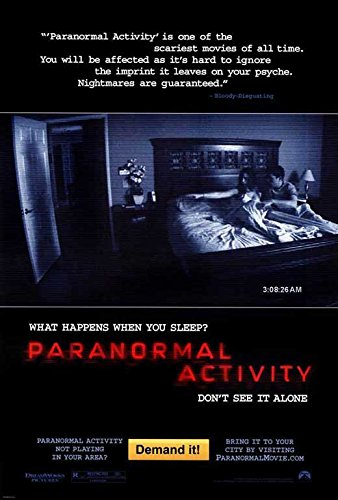 Paranormal Activity (B) POSTER (11'' x 17'') by Poster & Prints