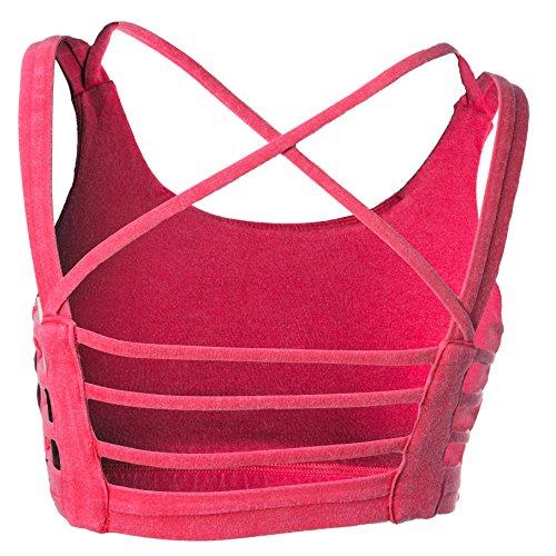 Maria Malo, Camiseta Deportiva para Mujer Rojo