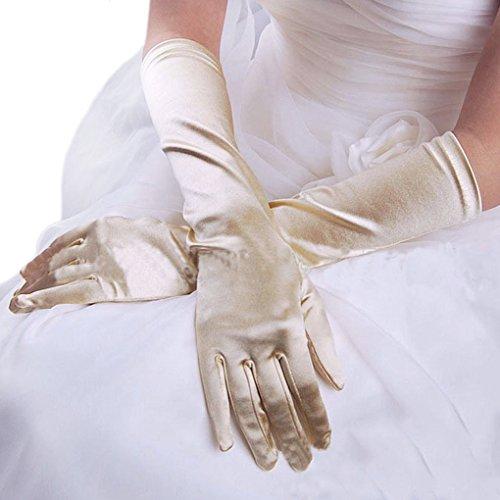 Starsource Wedding Full Finger Stretchable Gloves