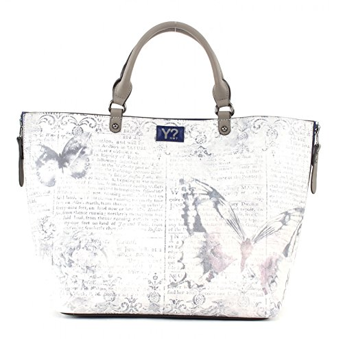 BORSA YNOT? E41 SHOPPER, Colore CLFS PERLA multicolor