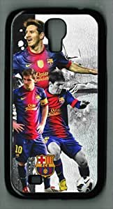icasepersonalized Personalized Protective Case for Samsung Galaxy S4 I9500 - Lionel Messi FCB
