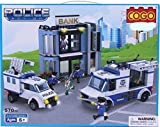 Babytintin™ Cogo Toys Police Action Building Blocks - Small Blocks, Big Features, Construction Toys For Kids, Children (Assorted)