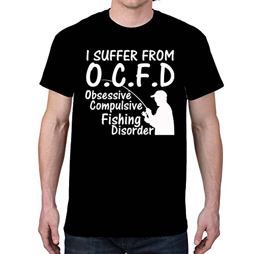 Men's O.C.F.D Fishing Black T-shirt