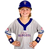 Franklin Sports MLB Texas Rangers Youth Team Uniform Set