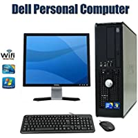 SALE !!! Dell OptiPlex Computer with 17 Inch Monitor(Brands Vary)- Intel Core 2 Duo 2.93 GHz - NEW 8GB RAM - 250GB HDD DVD ROM Windows 7 Pro 64 Bit-New Keyboard(Certified Reconditioned)