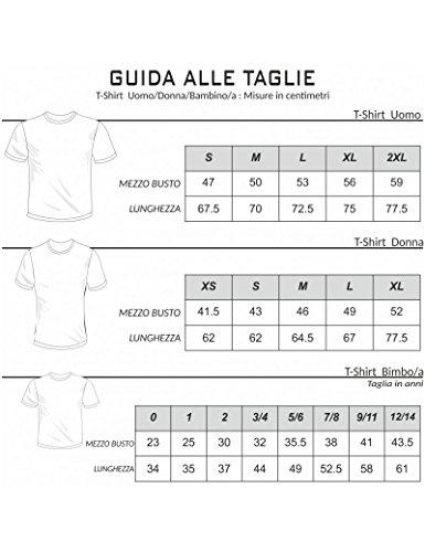 Navy Topolino 3 Bianca Uomo shirt Blu animati idea Anni regalo cartoni bambino Tuttoinunclick GR97 T donna 4 abbraciatutti XO6xFx