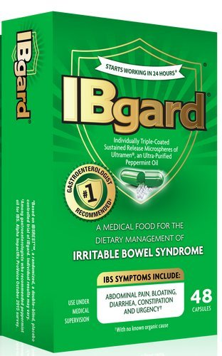 IBgard medical food for the dietery management of irritable bowel syndrome - 48ct