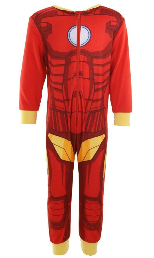 Pijama para niños, diseño de personajes de Marvel: el increíble Hulk de Los Vengadores, Iron Man, Spiderman, de 2 a 8 años: Amazon.es: Ropa y accesorios
