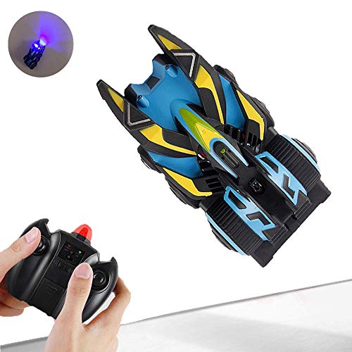 WomToy Climbing RC Car, Remote Control Car Ceiling Climbing Electric Toys RC Mini Stunt Car Birthday Present Gift for Kids (Best Electric Rc Cars)