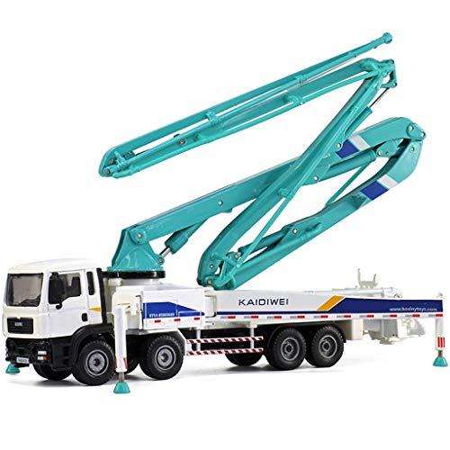 Lsxlsd Children's Large Toy Concrete Pump Truck Heavy Truck Cement Truck Alloy Automobile Engineering Model Toy (Truck Pump Cement)