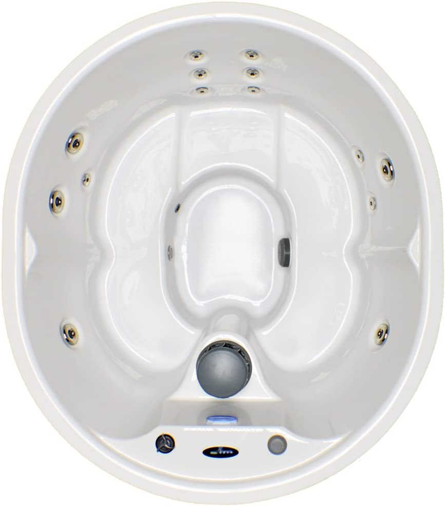 Hudson Bay Spas 5 Person 14 Jet Spa with Stainless Jets and 110V GFCI Cord Included.