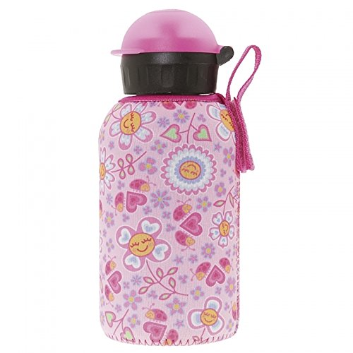 Laken Thermo Insulated Stainless Steel Kids Water Bottle with Hit Drinking...