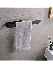 Handdoekhouder Zelfklevend, 37cm Handdoekrek 304 Roestvrij Staal, Open Handdoekrek, Handdoekstang voor Keuken / Woonkamer / Slaapkamer / Badkamer