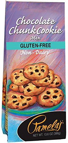 Pamela's Products Gluten Free Cookie Mix, Chocolate Chunk, 13.6 Ounce Unit (Pack of (White Chocolate Cookie Mix)