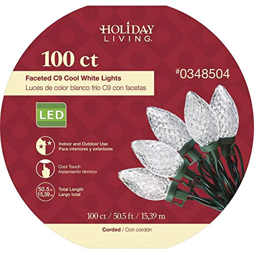 C9 Led Christmas Lights Cool White