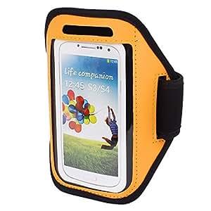Jogging al aire libre Deportes de la caja del brazalete naranja i9500 i9300 S3 S4