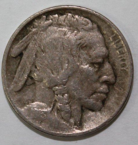 1913 P Type 2 Buffalo Nickel 5c Extremely Fine
