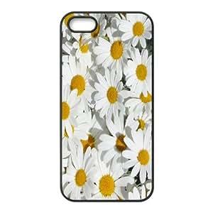 Diy Daisy Phone Case, DIY Hard Back Cover Case for iPhone 5/5G/5S Daisy