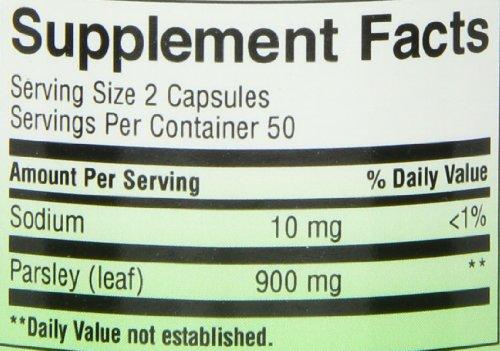 Buy nature's way parsley leaf capsules, 100 capsules