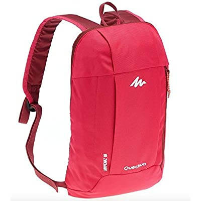 outlet Quechua Backpack 10 Liters pink, ARPENAZ, X-Sports Decathlon, water repellent, for adult and Children