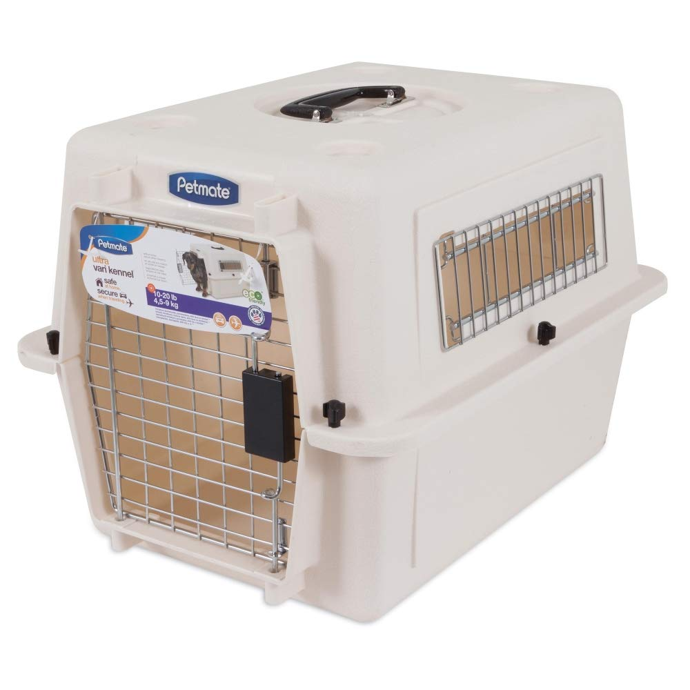 Petmate Ultra Vari Dog Kennel, Heavy-Duty, No Tool Assembly, 4 Sizes, Taupe/Black by Petmate (Image #4)