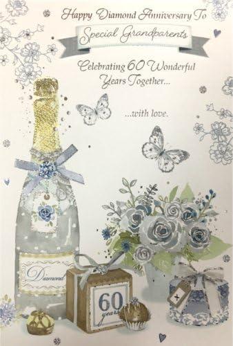 Auguri Anniversario Di Matrimonio Nonni.Anniversario Di Diamante 60 Anniversario Di Matrimonio Per