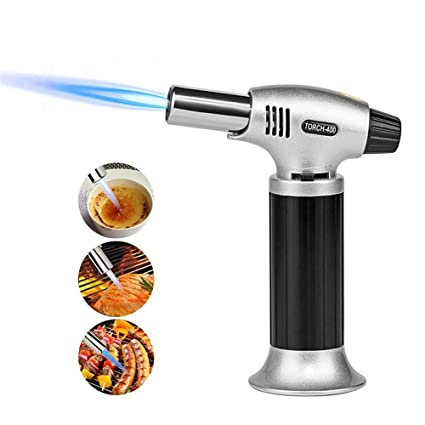 Amazon com: BBQ Brazing Gas Torch Adjustable Flame Inflated