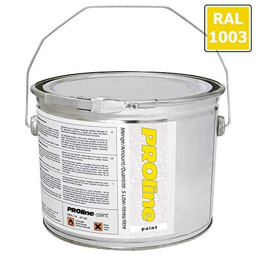 PROLINE-PAINT Antirutsch-Hallenmarkierfarbe PROline-paint, rutschhemmend, gelb, 5 l