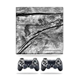 MightySkins Skin Compatible with Sony Playstation 3 PS3 Slim + 2 Controllers - Dead Wood | Protective, Durable, and Unique Vinyl wrap Cover | Easy to Apply, Remove | Made in The USA