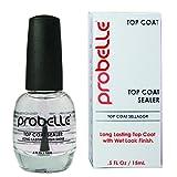 Probelle Ultra High Gloss Top Coat Sealer, Clear, .5 Fluid Ounce
