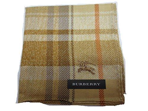 Burberry Women's Handkerchief Check Horse of Embroidery Ocher ()