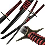 "40.5"" Red Fabric Wrapped Katana Replica Sword"