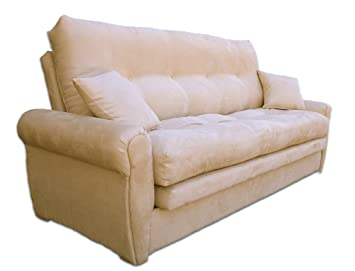 the lofabed the worldu0027s most comfortable full size sofabed in a beige microfibre